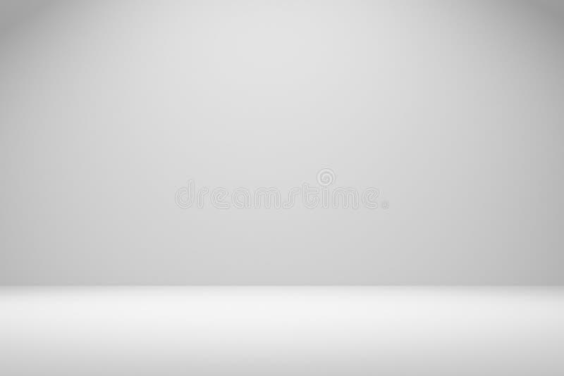 representación 3D: ejemplo del sitio vacío del fondo Con el espacio para su texto y imagen 3d rinden la cabina en blanco de la fe stock de ilustración