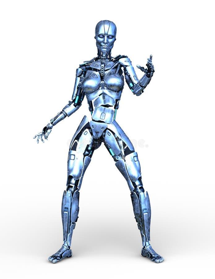 representación de 3D CG del robot libre illustration