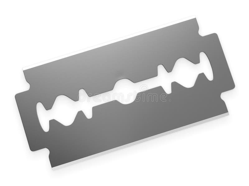 Representación de dos filos de la hoja de afeitar 3d libre illustration
