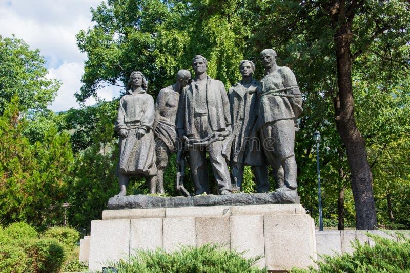 Representación de la esclavitud en Bulgaria foto de archivo libre de regalías