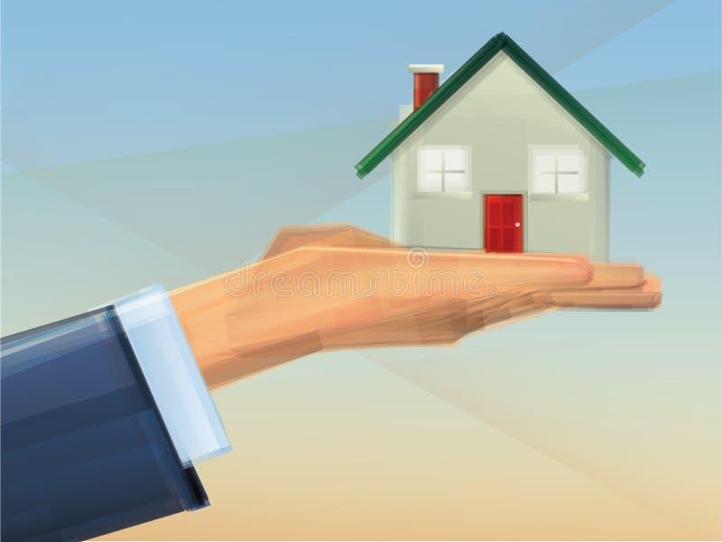 Casa en propiedad libre illustration