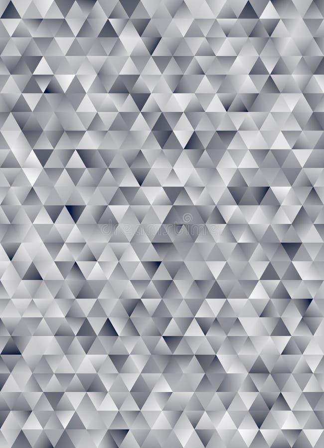 Representación geométrica abstracta del modelo 3d del triángulo fotos de archivo libres de regalías