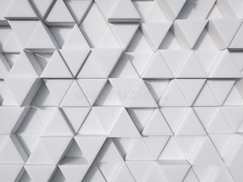 Representación moderna blanca abstracta del fondo 3d de la tecnología fotos de archivo libres de regalías
