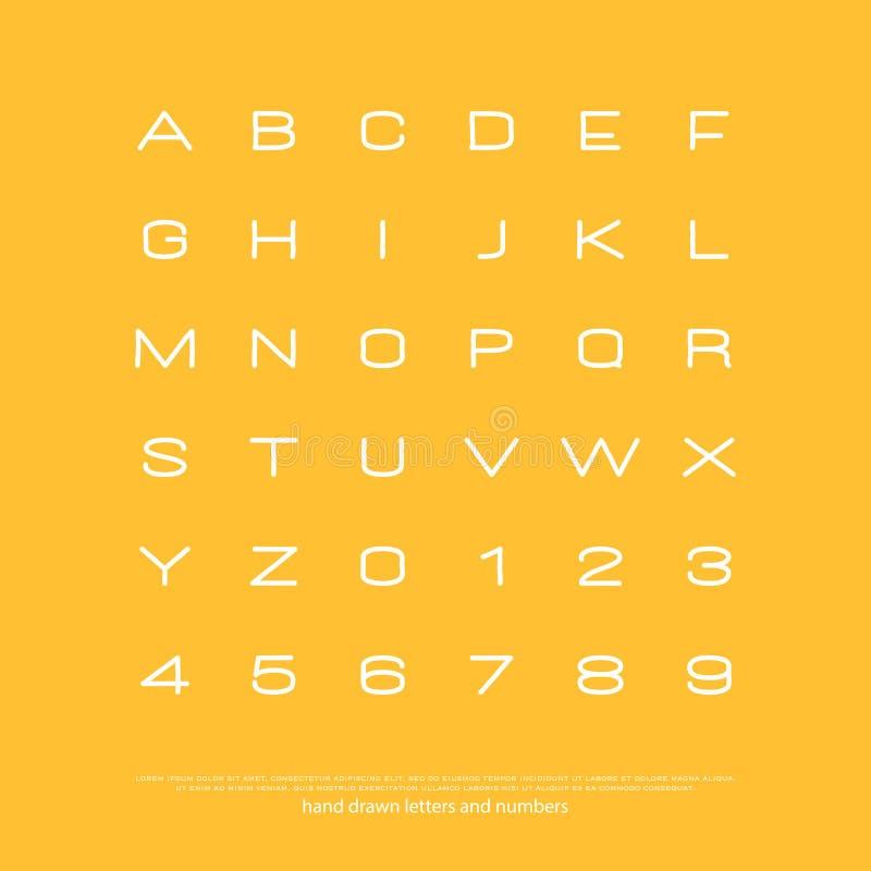 Representante amarillo ilustración del vector