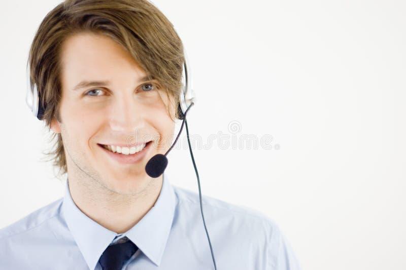 Representante del servicio de atención al cliente imágenes de archivo libres de regalías