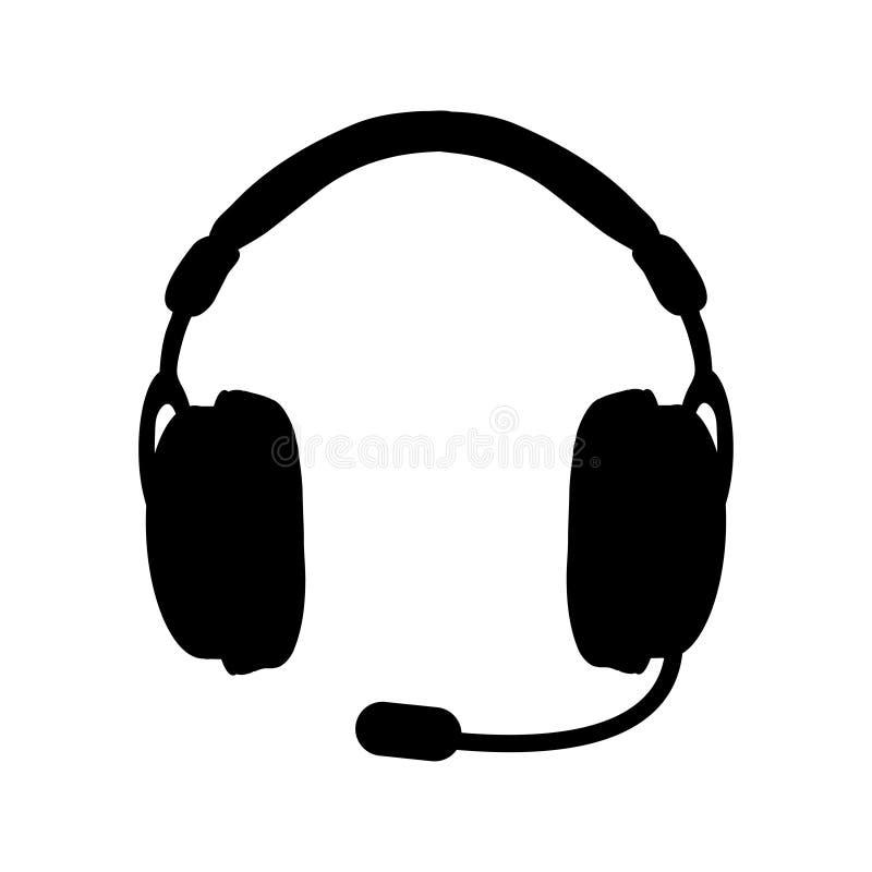 Representante/delegado de servicio de atención al cliente, centro de atención telefónica, icono del servicio de atención al clien stock de ilustración
