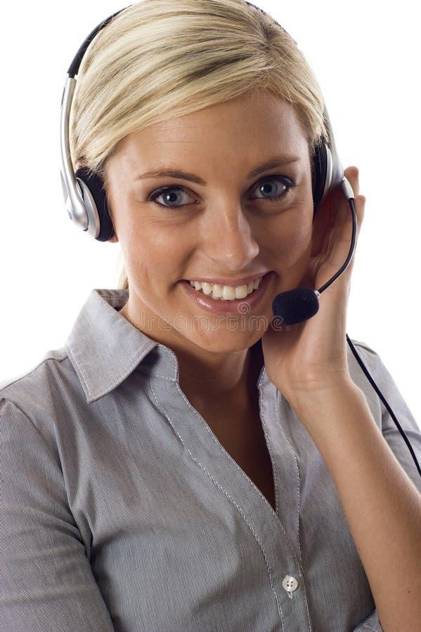 Representante do serviço de atenção a o cliente foto de stock royalty free