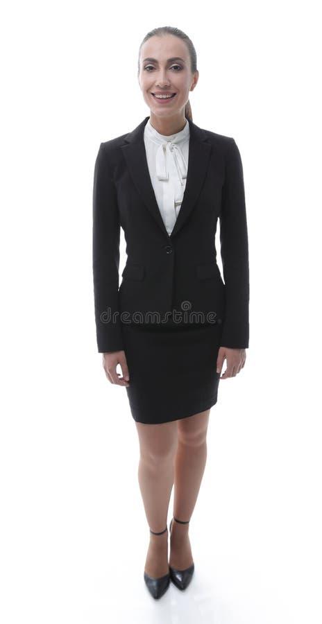 Representante fêmea amigável da empresa fotos de stock
