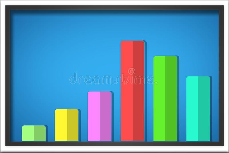 Represente el ejemplo gráficamente, elementos de Infographic puede ser utilizado para el workflo libre illustration