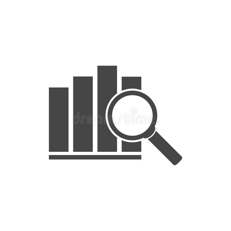 Represente el icono gráficamente, icono de la carta, icono del vector de la carta libre illustration