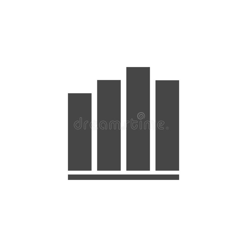 Represente el icono gráficamente, icono de la carta, icono del vector de la carta ilustración del vector