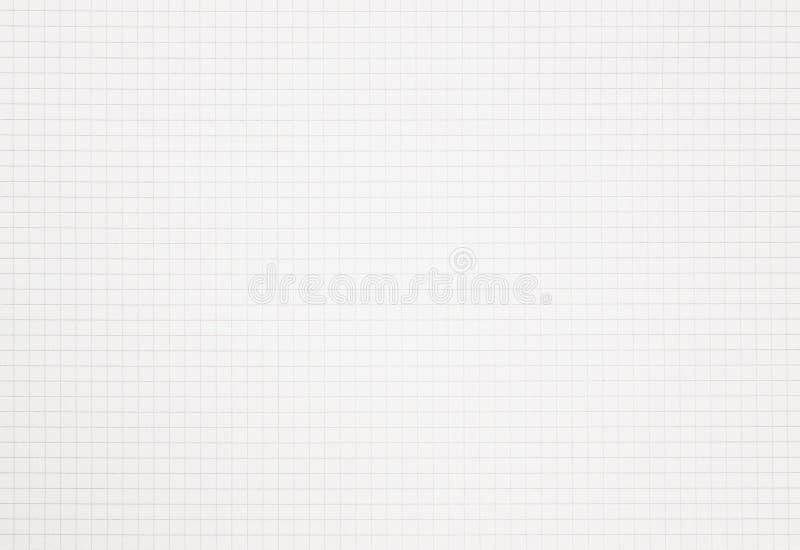 Represente el papel ajustado del cuaderno gráficamente de la rejilla con el espacio de la copia foto de archivo