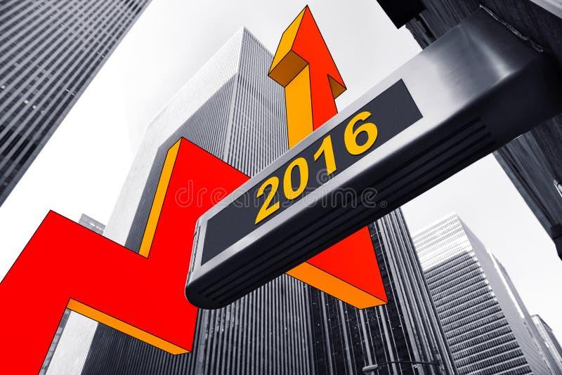 Reprise 2016 images libres de droits