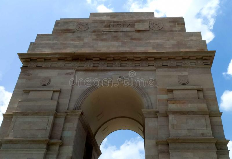Reproducción de India Gate en Indore foto de archivo libre de regalías