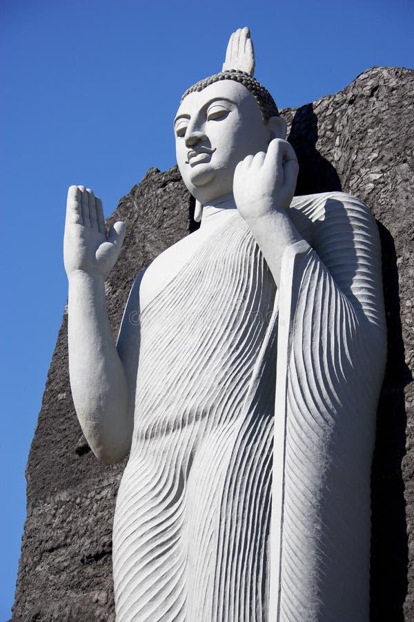 Reproduction d'Aukana Bouddha, Sri Lanka photos libres de droits