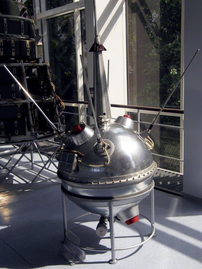 Reproduction d'une sonde d'espace Luna 2 photos stock