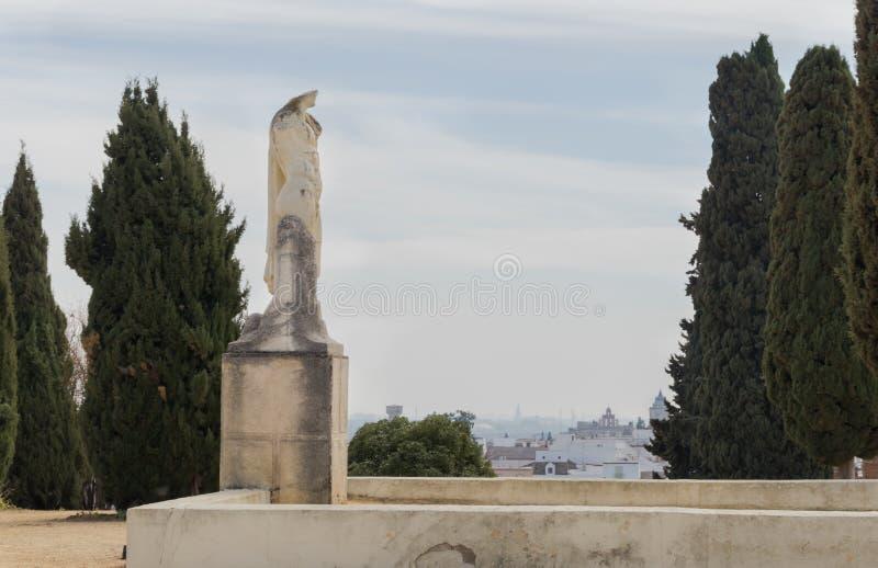 Reproduction de la sculpture héroïque de Trajan dans le lica de ¡ d'Ità photo stock