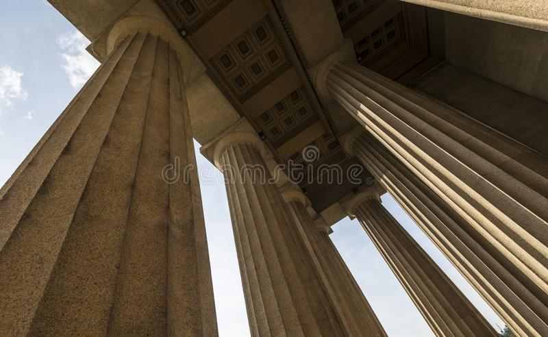 Reproduction de parthenon photographie stock libre de droits