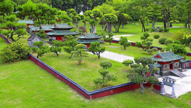 Reproduction de Shaolin Temple, porcelaine image libre de droits