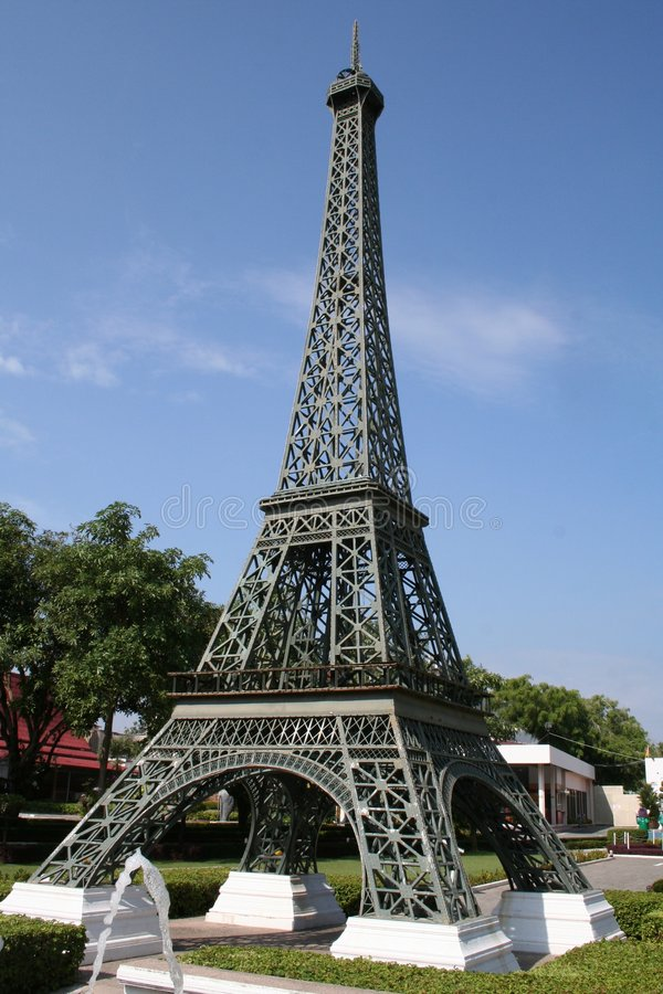 Reproduction de Tour Eiffel photos libres de droits
