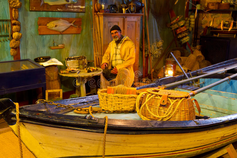 Download Reproduction Of Fisherman Workshop Editorial Photo - Image: 24029881