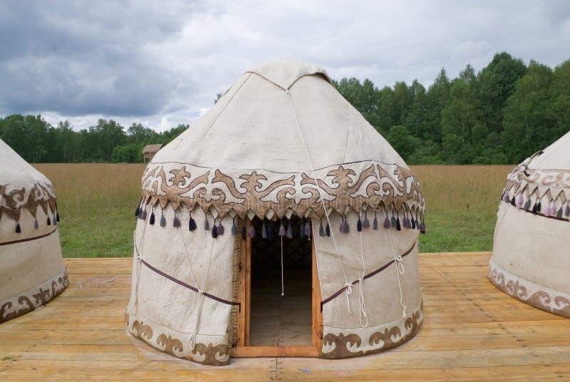 Reproductions de Yurts photographie stock libre de droits