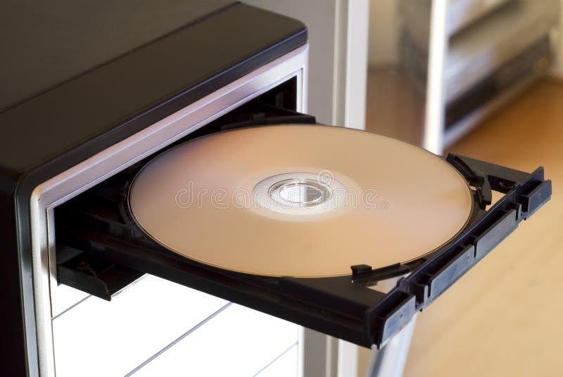 Reproductor de DVD foto de archivo libre de regalías