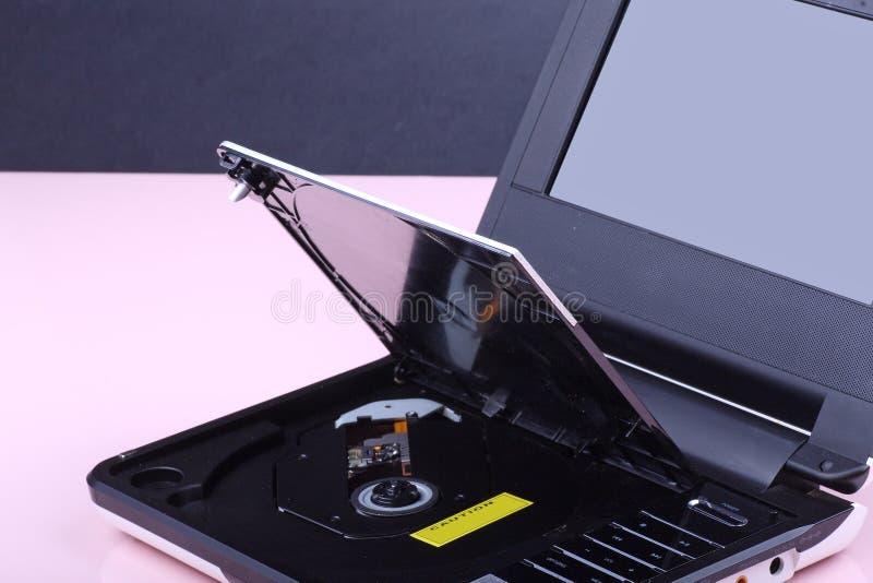 Reproductor de DVD portable imagen de archivo libre de regalías
