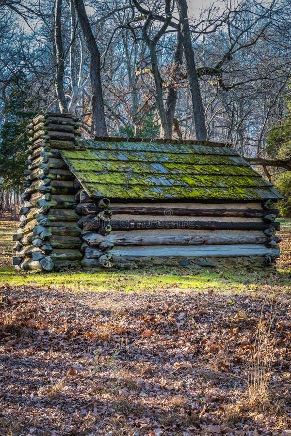 Reprodukci buda przy Dolinnym kuźni Pennsylwania usa fotografia stock