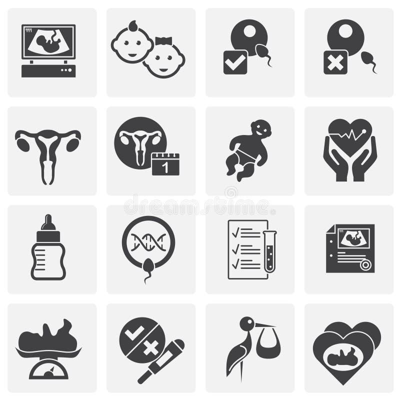 Reproduktionen gällde symboler ställde in på bakgrund för diagram och rengöringsdukdesign enkel terminal f?r flygplanillustration royaltyfri illustrationer