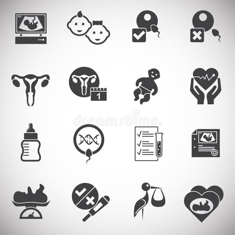Reproduktionen gällde symboler ställde in på bakgrund för diagram och rengöringsdukdesign enkel terminal f?r flygplanillustration vektor illustrationer