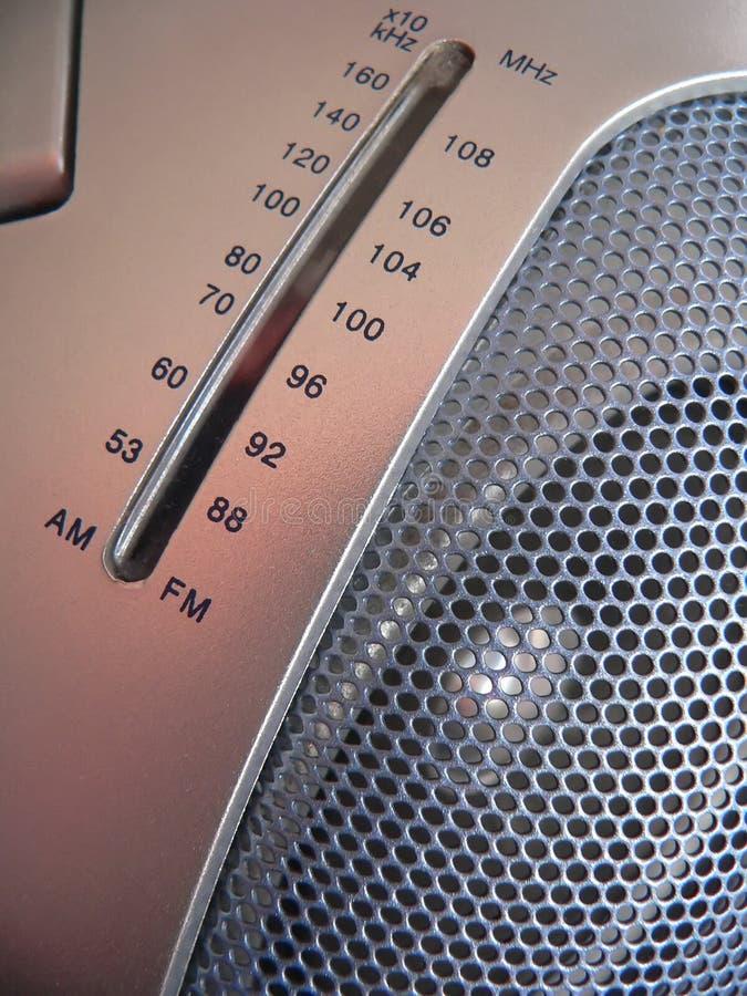 Reprodutor de CDs de rádio fotografia de stock