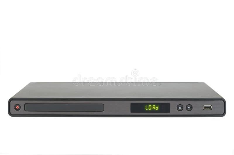Reprodutor de DVD fotografia de stock