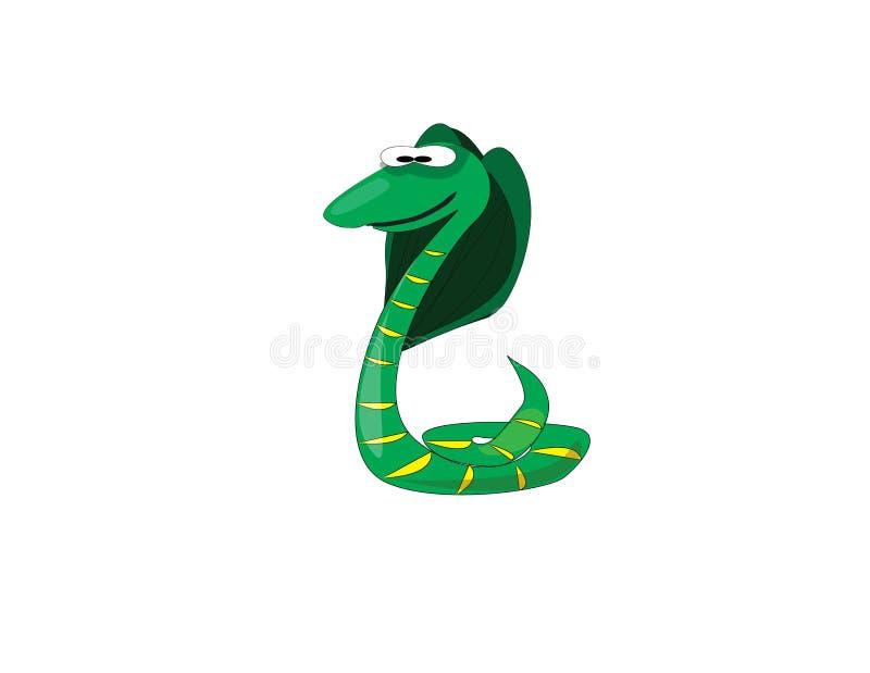 Reptil del animal de la historieta stock de ilustración