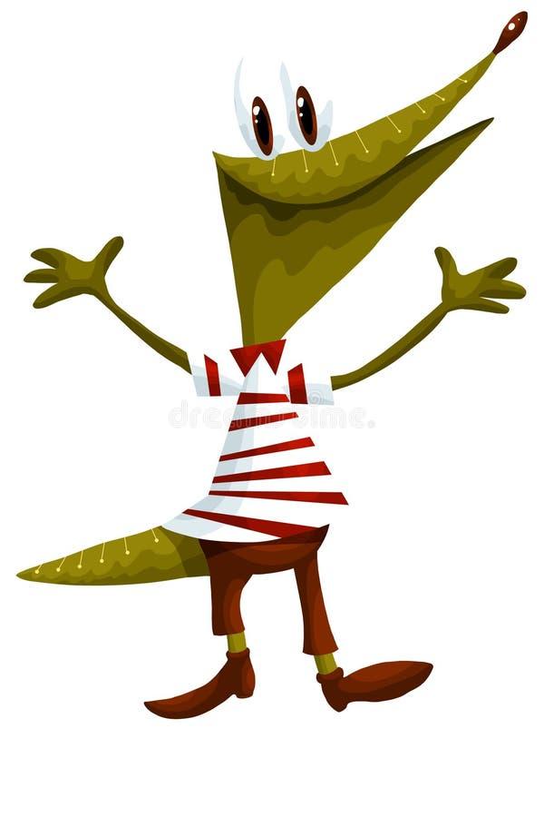 Download Reptile Crocodile Character Cartoon Style  Illustration Stock Illustration - Illustration: 30867902