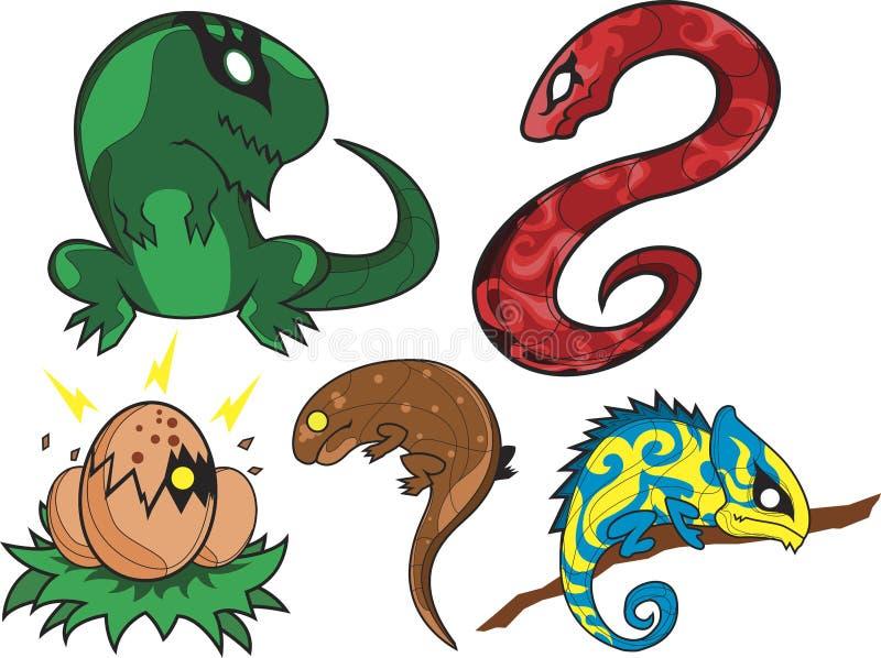 Download Reptile Farm stock illustration. Image of pets, iguana - 2316102