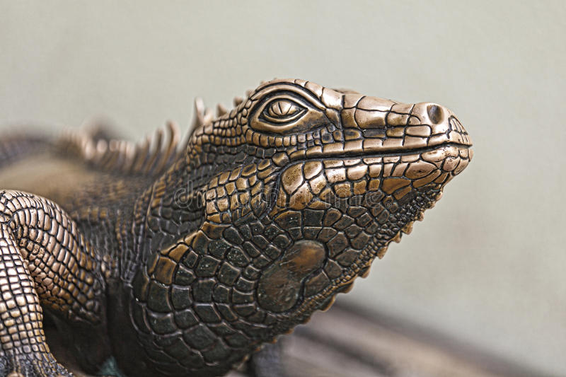 Download Reptile Statue stock image. Image of decorative, vacation - 34189473