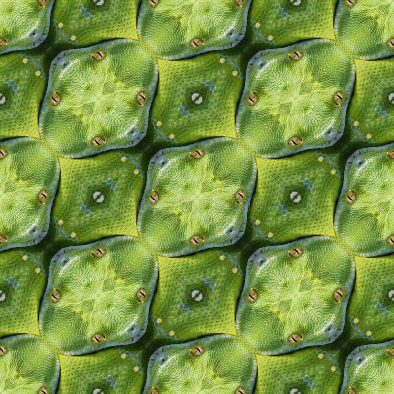 Reptilian Huidtextuur royalty-vrije stock afbeelding