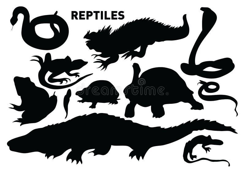 Reptilien lizenzfreie abbildung