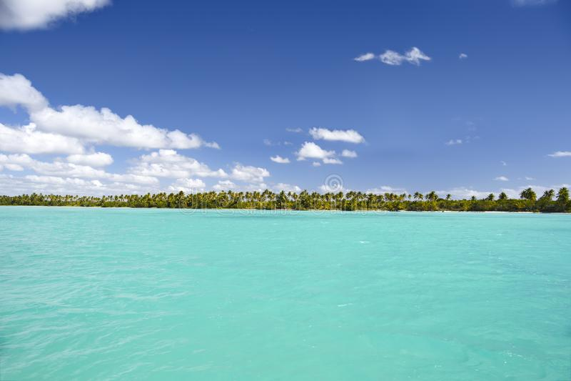 Repubblica dominicana, il mar dei Caraibi, le spiagge soleggiate dell'isola di Saona fotografia stock
