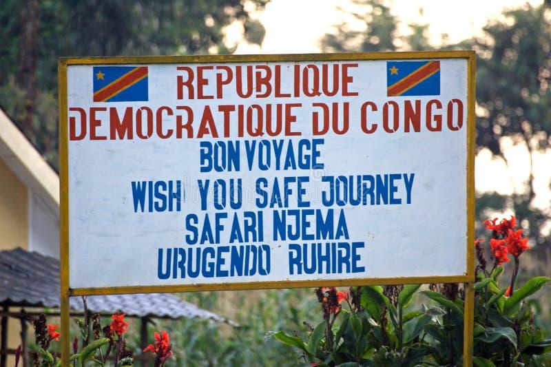 Republic Of The Congo Democratic imagens de stock royalty free