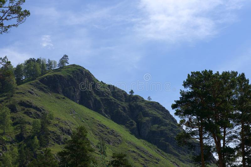 The Republic of Gorny Altai royalty free stock photo