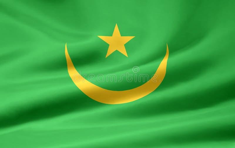 Republic of Mauritania flag stock photos
