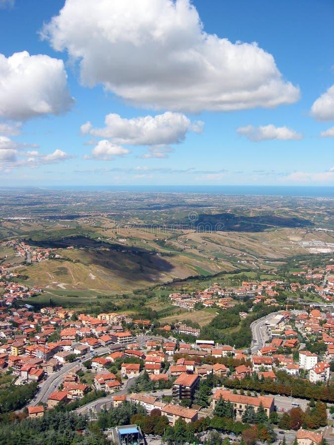 Republic Of San Marino imagens de stock royalty free