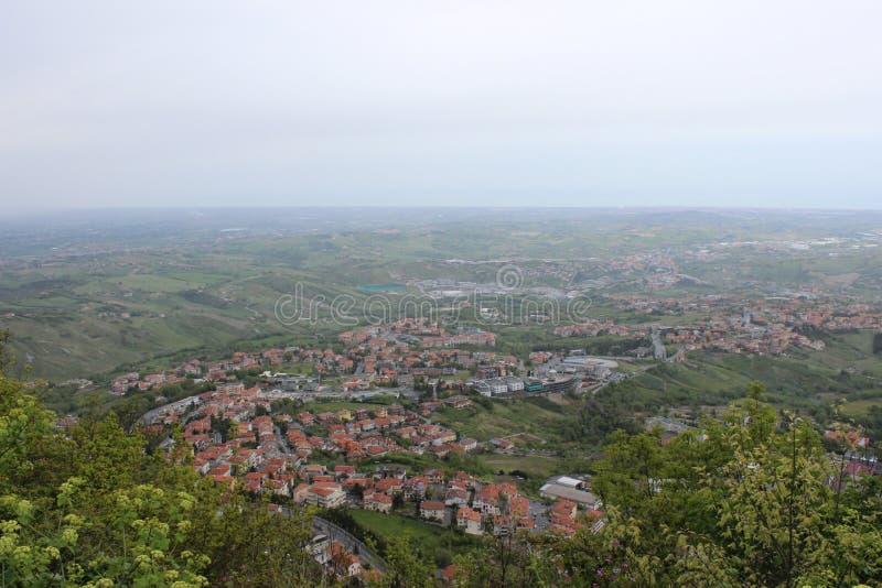 Republic Of San Marino lizenzfreie stockfotos