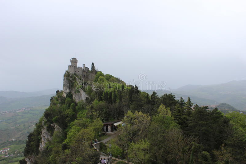 Republic Of San Marino stockfotos