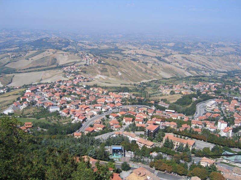 Republic San Marino Stock Photography