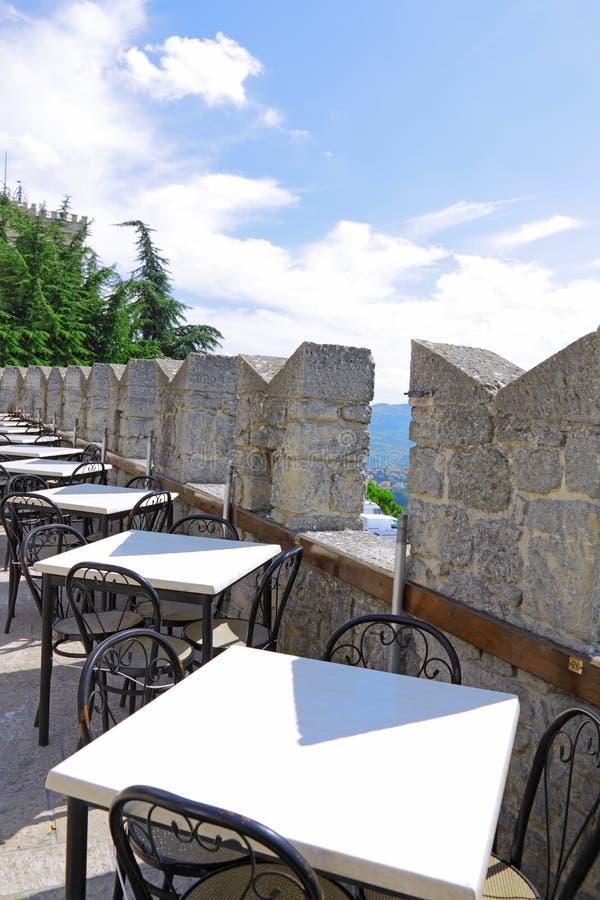 Republic of San Marino Italien arkivbild