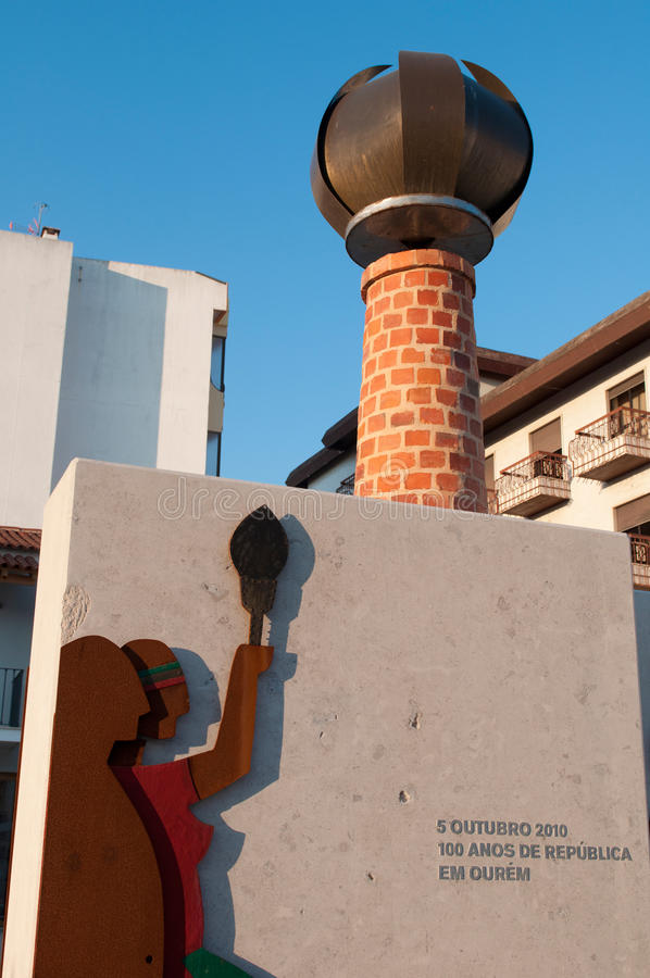 Download Republic Sculpture In Ourem Editorial Photography - Image: 23466777
