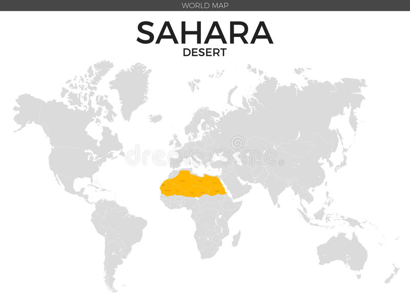 Sahara desert location map stock vector illustration of detailed download sahara desert location map stock vector illustration of detailed 73680433 gumiabroncs Choice Image